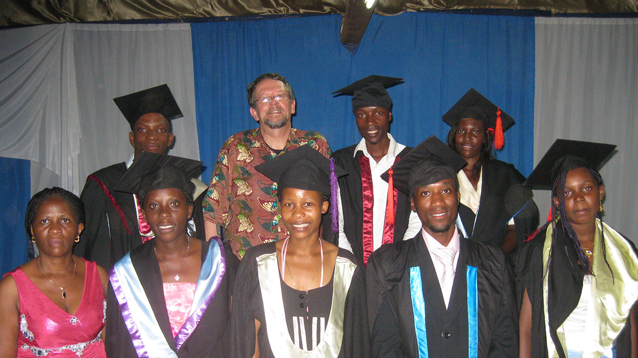 Photo of Group of Uganda Graduates